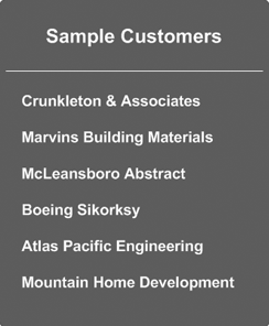 Sample Business Customers
